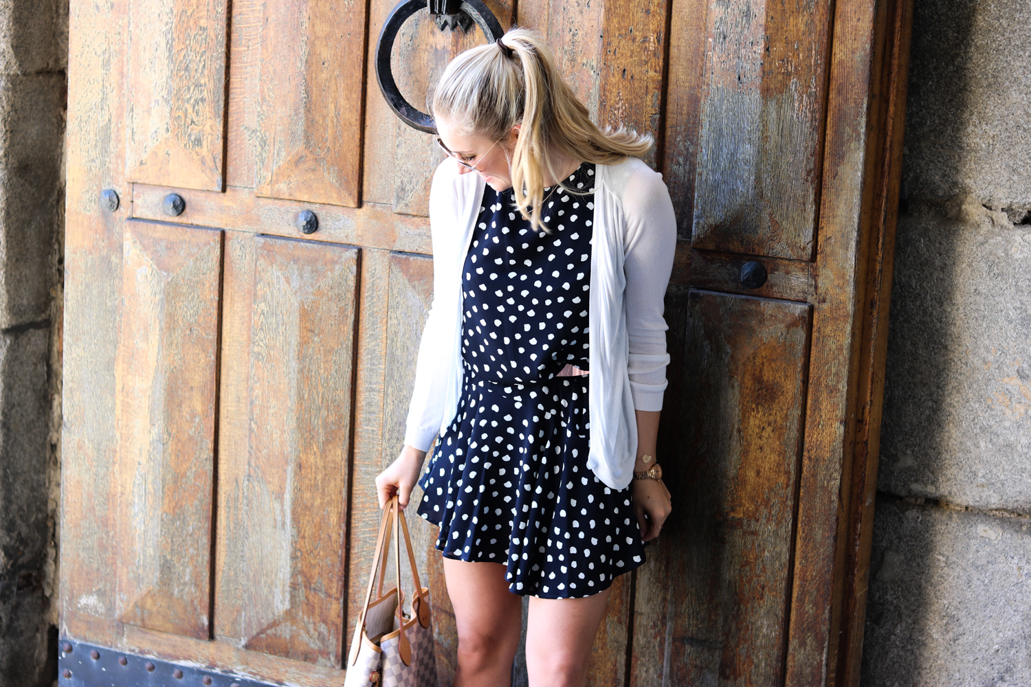Outfit: Polka Dot Dress