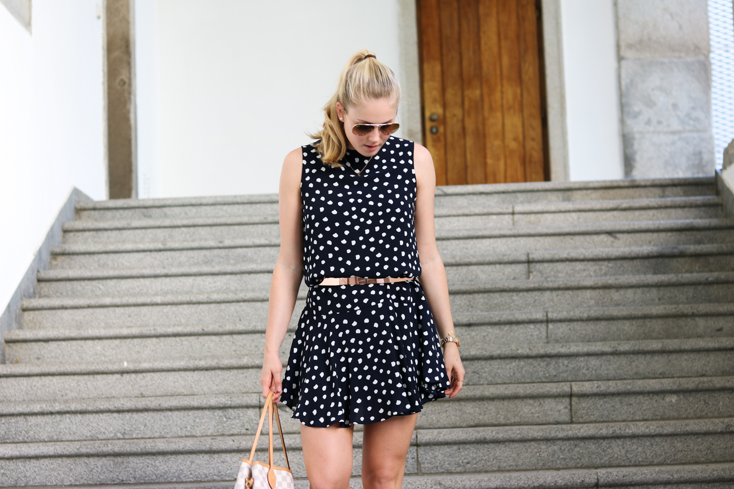 Bits and Bobs by Eva, Blog, Austrian Blog, Österreichische Blog, lovedailydose, your daily treat, fashion, beauty, food, interior, fitness, new, bitsandbobsbyeva.com, travel, spring, Mai, Frühling, Polka Dot Dress, gepunktetes Kleid, Mango, Sommer Outfit, Outfit Inspiration, summer outfit, summer dress