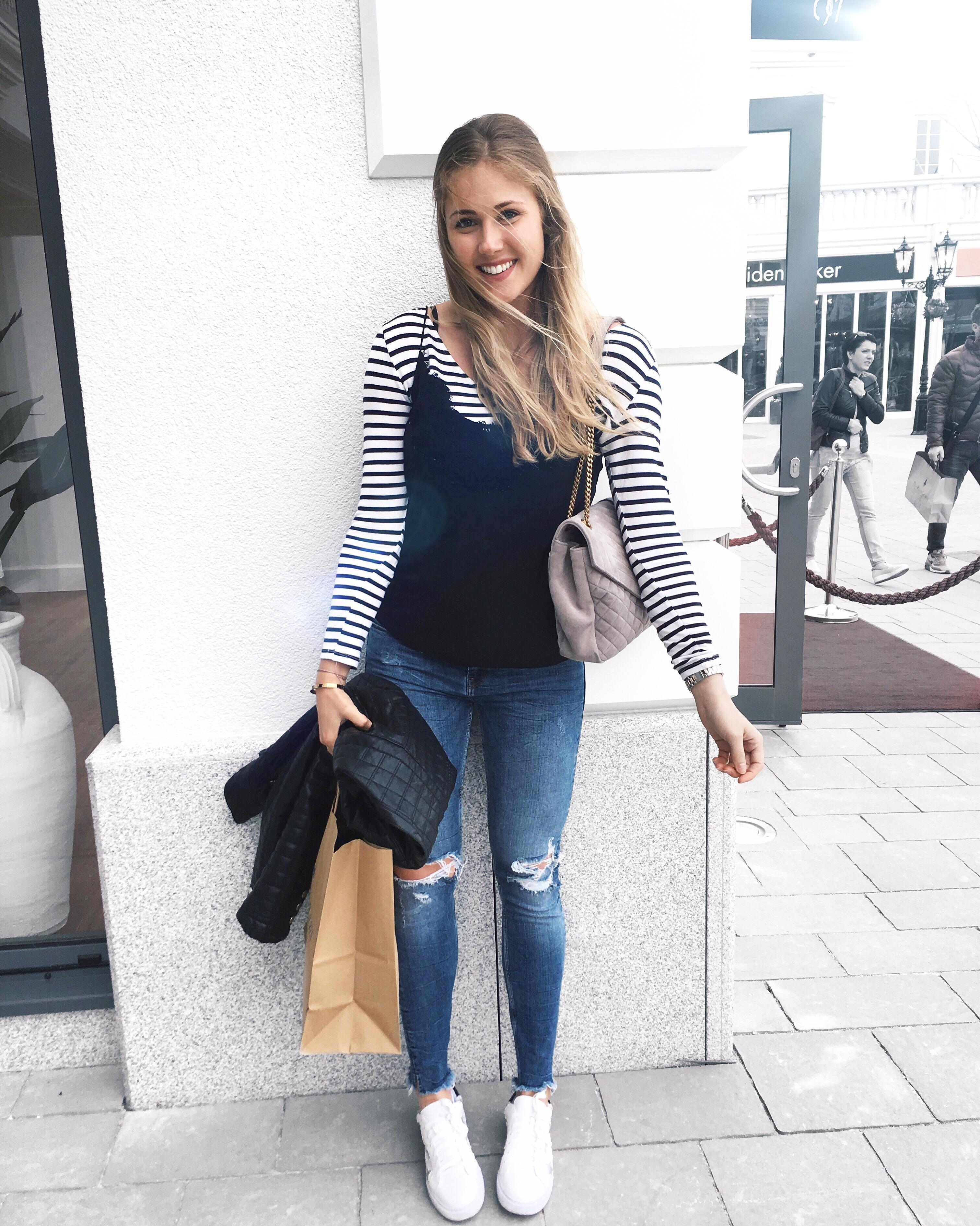Bits and Bobs by Eva, Blog, Austrian Blog, Österreich blog, österreichische blogger, lifestyle blog, lifestyle, fashion, food, fitness, travel, inspiration, lovedailydose, the daily dose, bitsandbobsbyeva, bits and bobs, blog, blogger, deutsche blogger, german blogger, österreich, linz, wien, vienna, blonde girl, instagram blog, instagram outfits #4, instagram outfit, outfit inso, spring outfit, frühlingsoutfit, frühlingslook, eva outfit, pimkie shirt, kaktus shirt, one teaspoon shorts, zara pullover, ysl bag, parndorf, designer outlet