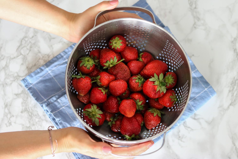 solero smoothie eis mit Erdbeeren von Eskimo, solerosmoothie