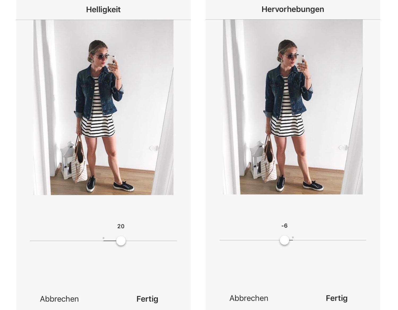 wie bearbeite ich meine Fotos auf Instagram, Instagram