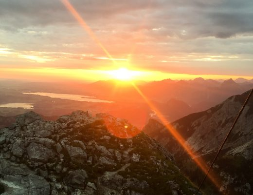 Rise and Shine: Sonnenaufgang Aggenstein Tirol
