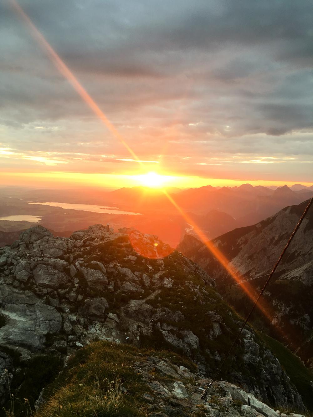 Rise & Shine: Sonnenaufgang Aggenstein