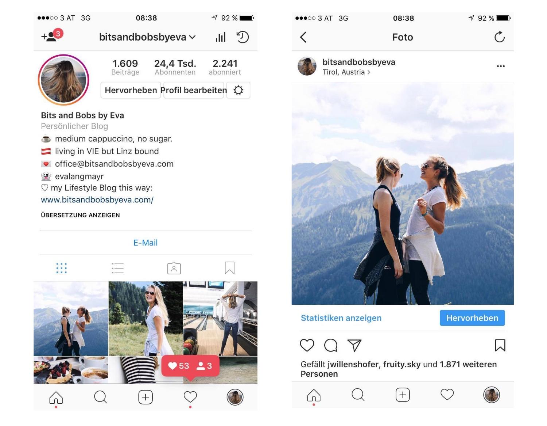 Wie bekomme ich mehr Instagram Follower? auf Bits and Bobs by Eva