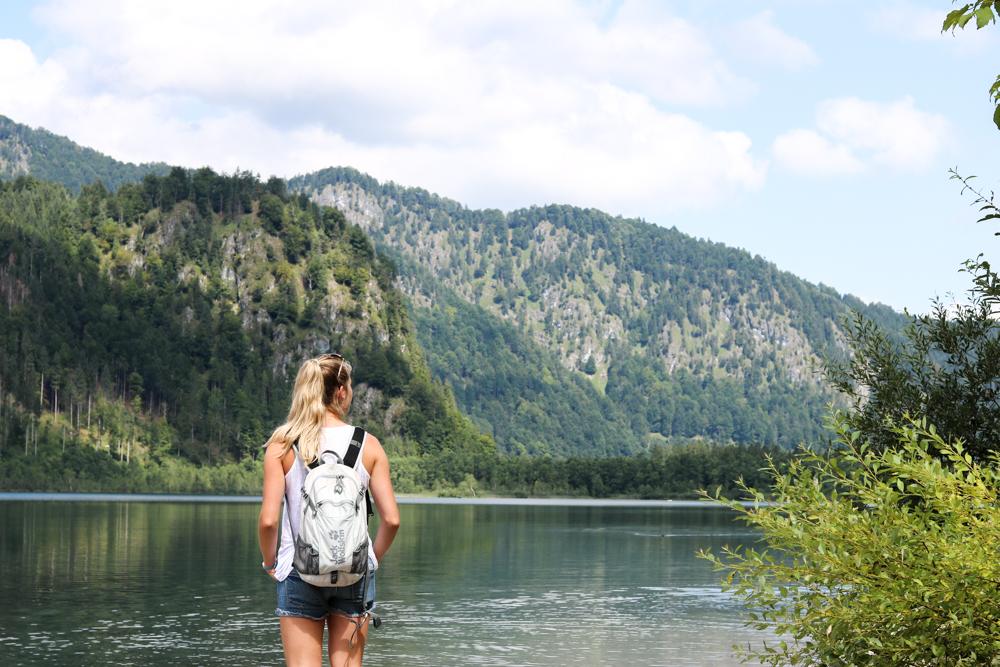 Ein Tag am Almsee bei Grünau in Oberösterreich Hund Bits and Bobs by Eva