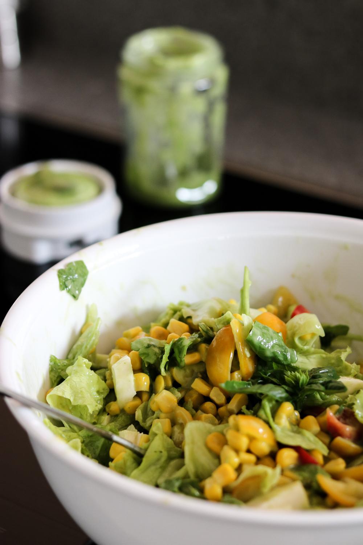 Rezept: Gesundes Salat Dressing auf Bits and Bobs by Eva