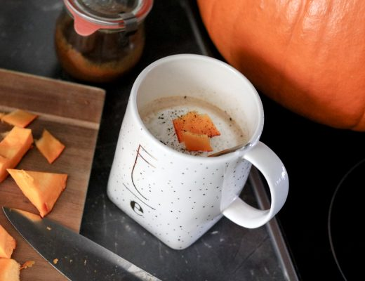 Food: Healthy Pumpkin Spice Latte auf Bits and Bobs by Eva