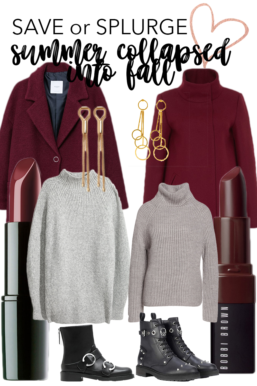 Save vs Splurge: Summer collapsed into Fall auf Bits and Bobs by Eva