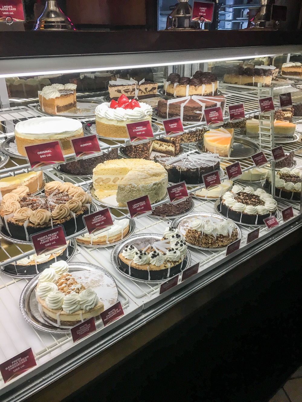 Seattle Food Guide und Cheesecake Factory auf Bits and Bobs by Eva