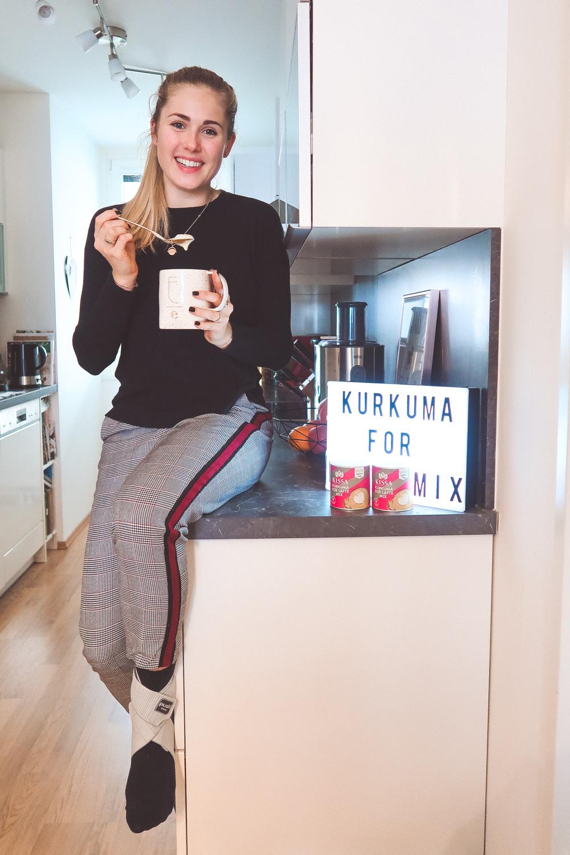 Mein Arbeitsalltag & Kurkuma for Latte Mix auf dem österreichischen Lifestyle Blog
