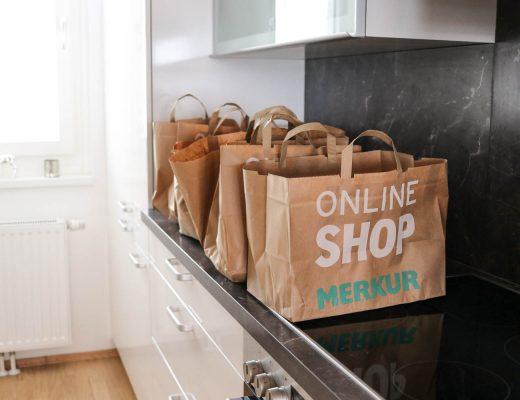 Meine Einkaufsgewohnheiten mit Merkur Online Shop auf dem Lifestyle Blog Bits and Bobs by Eva. Mehr über Essen & Lebensmittel auf www.bitsandbobsbyeva.com