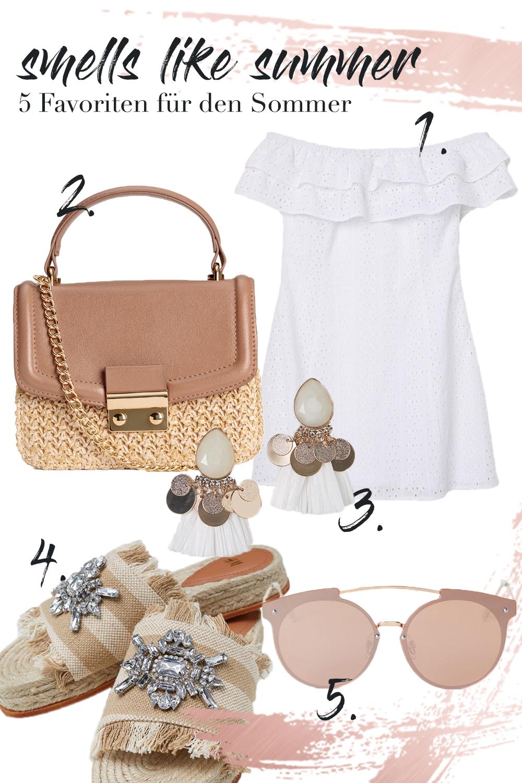 5 Favoriten für den Sommer | smells like summer