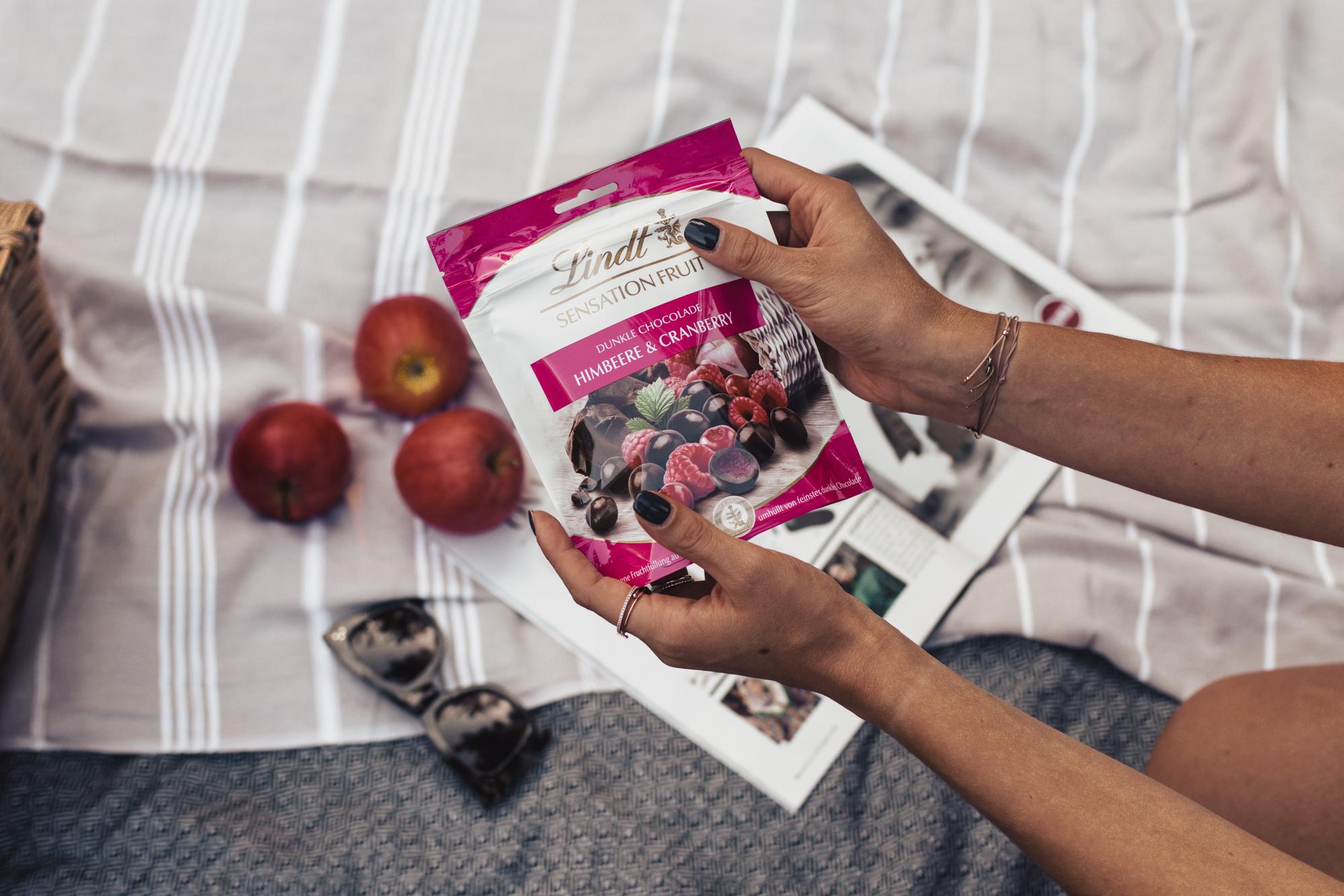 5 Dinge, die glücklich machen mit Lindt Sensation Fruit auf dem österreichsichen Lifestyle Blog Bits and Bobs by Eva. Mehr auf www.bitsandbobsbyeva.com