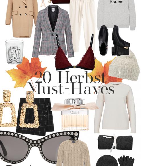 20 Herbst Must-Haves auf dem österreichischen Lifestyle Blog Bits and Bobs by Eva. Mehr Fashion & Mode auf www.bitsandbobybeva.com