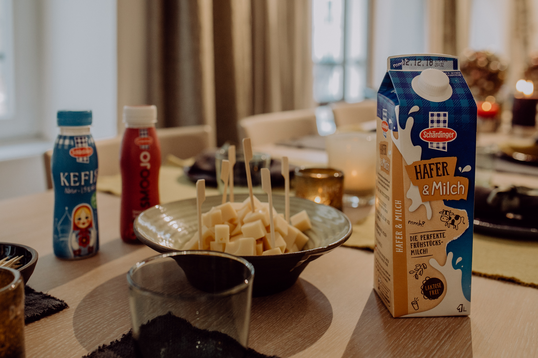 Kennt ihr die neue Schärdinger Hafer & Milch schon? aus 51% laktosefreier Vollmilch & 49% Haferdrink
