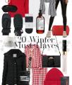 20 Winter Must-Haves auf dem österreichsichen Lifestyle Blog Bits and Bobs by Eva. Mehr Fashion auf www.bitsandbobsbyeva.com