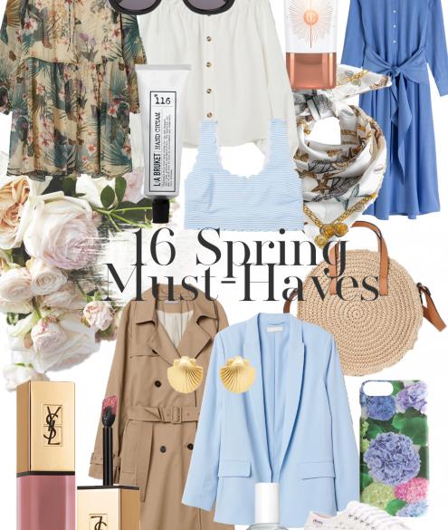 16 Spring Must-Haves auf dem österreichischen Lifestyle Blog Bits and Bobs by Eva. Mehr Fashion Wishlists auf www.bitsandbobsbyeva.com
