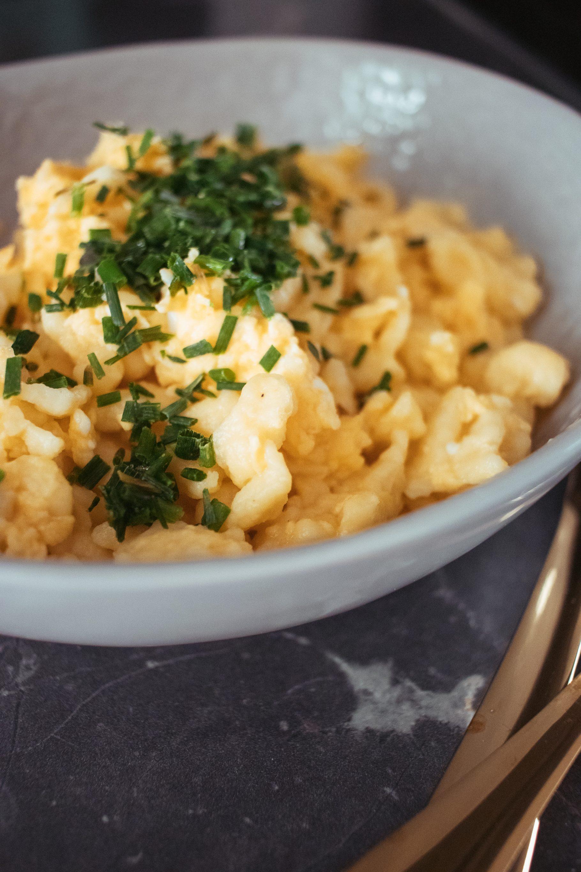 Rezept: Eiernockerl auf dem österreichischen Lifestyle Blog Bits and Bobs by Eva. Mehr Food und gesundes Essen auf www.bitsandbobsbyeva.com