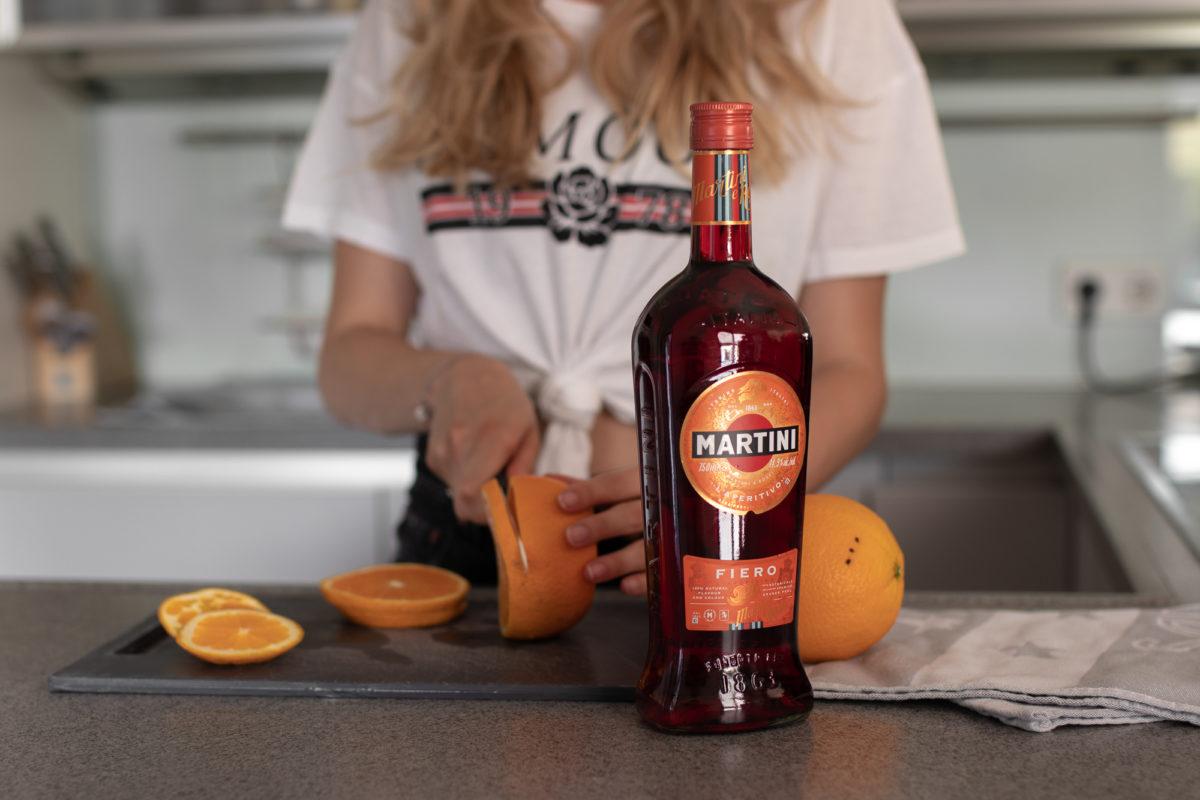 Aperitivo Genuss: Martini Fiero auf dem österreichischen Lifestyle Blog Bits and Bobs by Eva. Mehr Drinks und Rezepte auf www.bitsandbobsbyeva.com