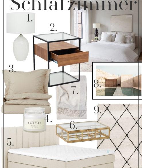 Interior INSPO: Schlafzimmer auf dem österreichischen Lifestyle Blog Bits and Bobs by Eva. Mehr Einrichtungs-Tipps auf www.bitsandbobsbyeva.com