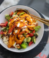 Herbstsalat mit Balsamico Kürbis & Feta auf dem österreichsichen Lifestyle Blog Bits and Bobs by Eva. Mehr gesunde Rezepte auf www.bitsandbobsbyeva.com