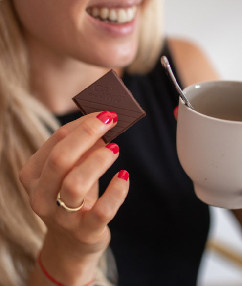 Mehr Cacao, weniger Zucker mit Lindt auf dem Lifestyle Blog Bits and Bobs by Eva. Mehr zu Lindt Excellence Milch Chocolade auf www.bitsandbobsbyeva.com
