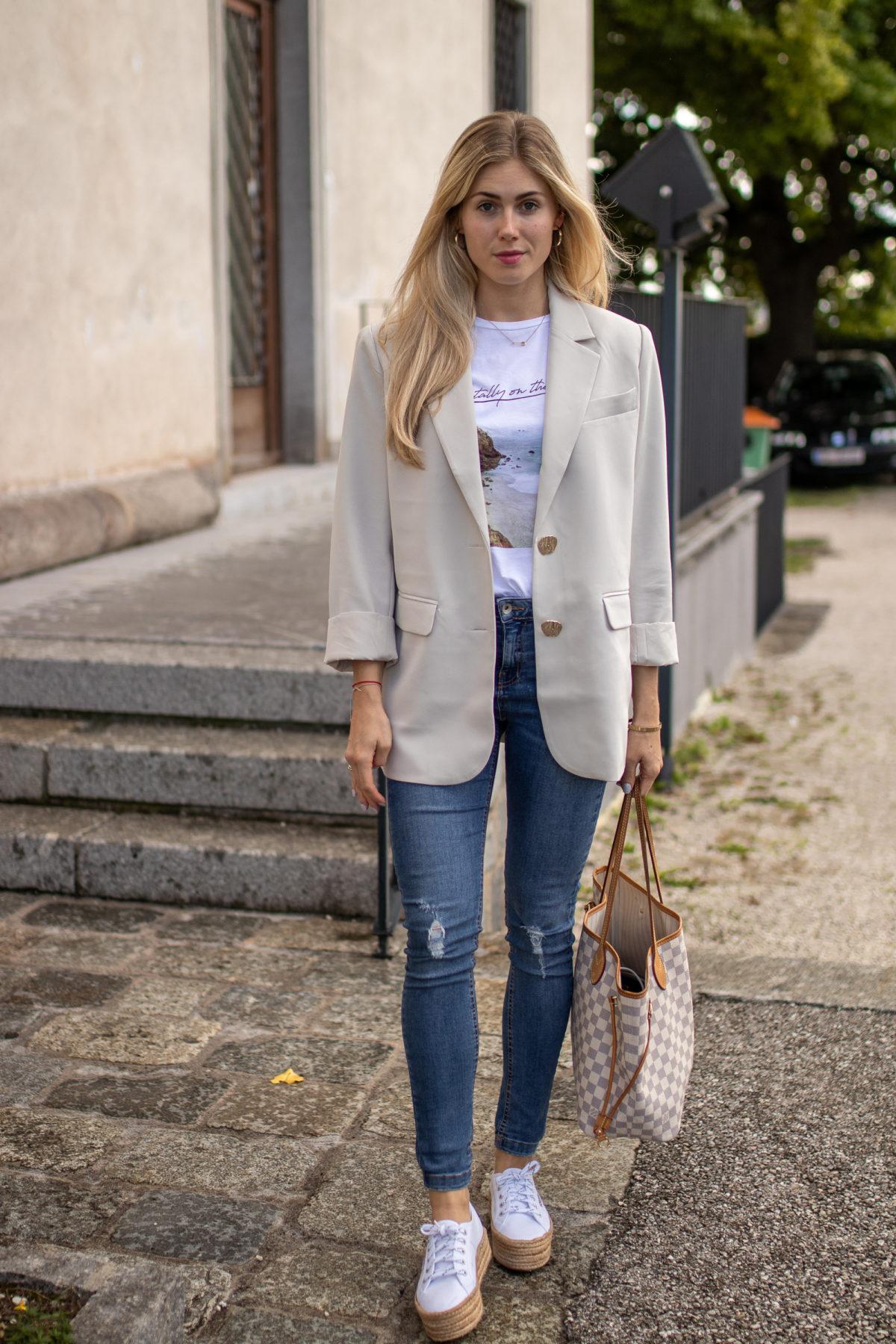 BLOG YOUR SYTLE: Lieblingsblazer auf dem österreichischen Lifestyle Blog Bits and Bobs by Eva. Mehr Fashion auf www.bitsandbobsbyeva.com