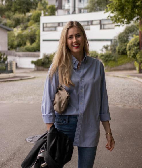 BLOG YOUR STYLE: Boyfriend Hemd auf dem österreichischen Lifestyle Blog Bits and Bobs by Eva. Mehr Outfits auf www.bitsandbobsbyeva.com